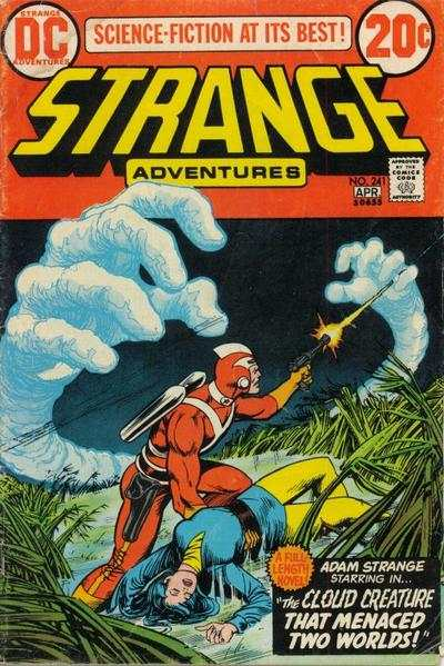 Strange Adventures #241 Comic Books - Covers, Scans, Photos  in Strange Adventures Comic Books - Covers, Scans, Gallery