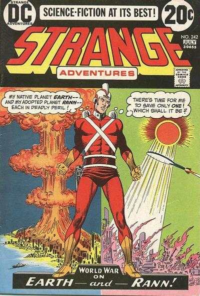 Strange Adventures #242 Comic Books - Covers, Scans, Photos  in Strange Adventures Comic Books - Covers, Scans, Gallery