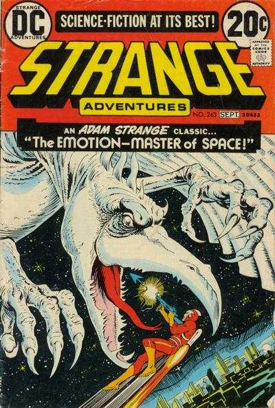 Strange Adventures #243 Comic Books - Covers, Scans, Photos  in Strange Adventures Comic Books - Covers, Scans, Gallery