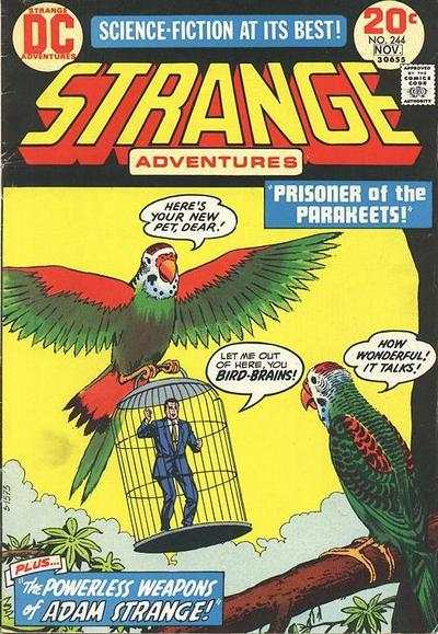 Strange Adventures #244 Comic Books - Covers, Scans, Photos  in Strange Adventures Comic Books - Covers, Scans, Gallery