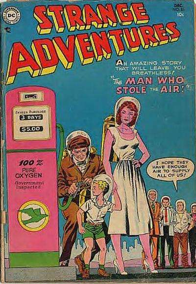 Strange Adventures #51 Comic Books - Covers, Scans, Photos  in Strange Adventures Comic Books - Covers, Scans, Gallery