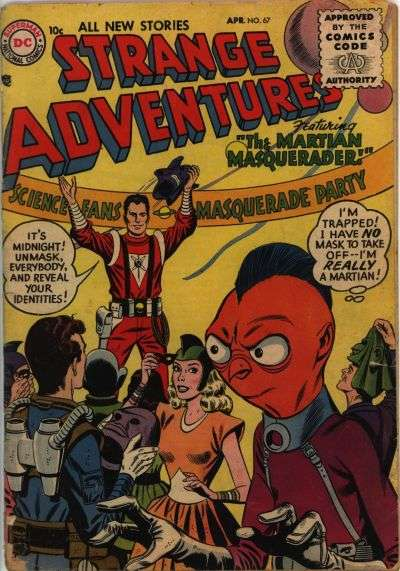 Strange Adventures #67 Comic Books - Covers, Scans, Photos  in Strange Adventures Comic Books - Covers, Scans, Gallery
