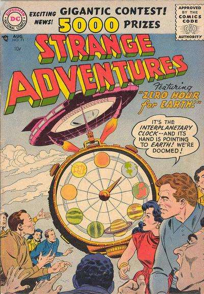 Strange Adventures #71 Comic Books - Covers, Scans, Photos  in Strange Adventures Comic Books - Covers, Scans, Gallery