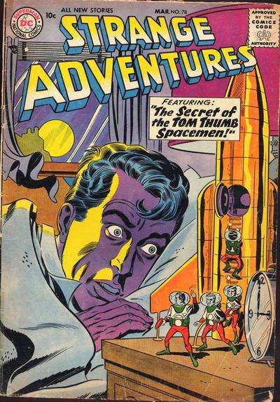 Strange Adventures #78 Comic Books - Covers, Scans, Photos  in Strange Adventures Comic Books - Covers, Scans, Gallery