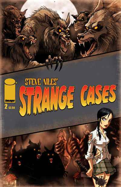 Strange Cases #2 comic books - cover scans photos Strange Cases #2 comic books - covers, picture gallery