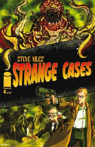 Strange Cases #4 comic books - cover scans photos Strange Cases #4 comic books - covers, picture gallery
