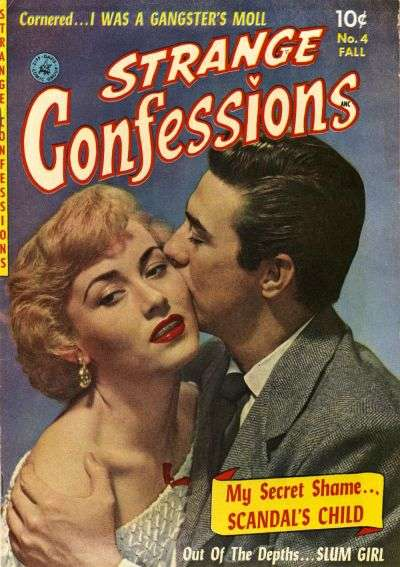 Strange Confessions #4 Comic Books - Covers, Scans, Photos  in Strange Confessions Comic Books - Covers, Scans, Gallery