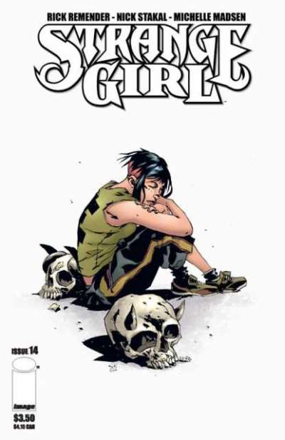 Strange Girl #14 comic books for sale