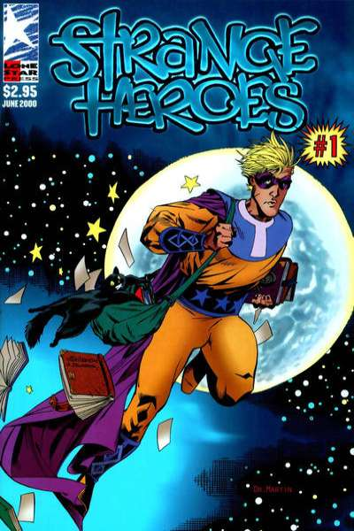 Strange Heroes comic books