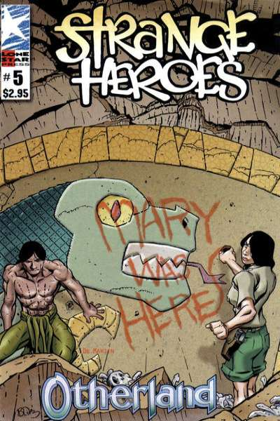 Strange Heroes #5 comic books for sale
