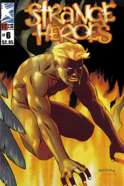 Strange Heroes #6 comic books - cover scans photos Strange Heroes #6 comic books - covers, picture gallery