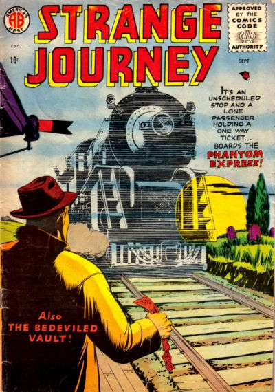 Strange Journey comic books