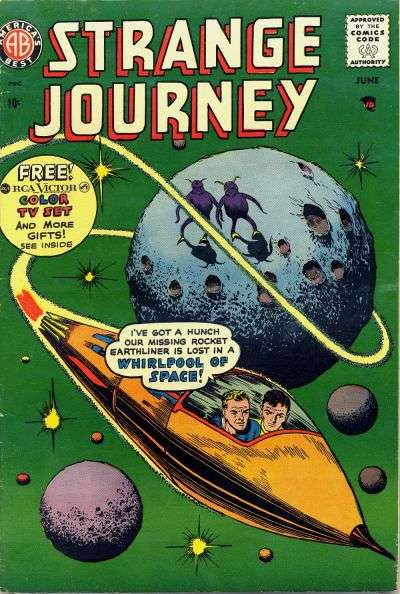 Strange Journey #4 Comic Books - Covers, Scans, Photos  in Strange Journey Comic Books - Covers, Scans, Gallery