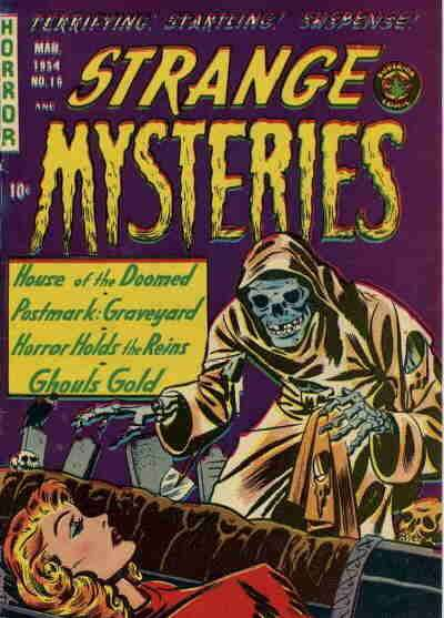 Strange Mysteries #16 comic books for sale