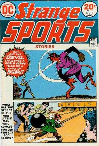 Strange Sports Stories #1 comic books - cover scans photos Strange Sports Stories #1 comic books - covers, picture gallery