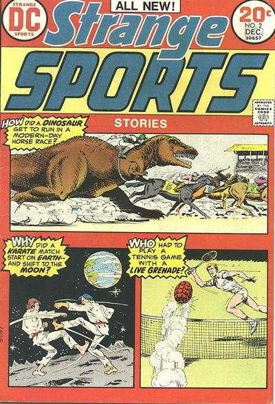 Strange Sports Stories #2 comic books - cover scans photos Strange Sports Stories #2 comic books - covers, picture gallery