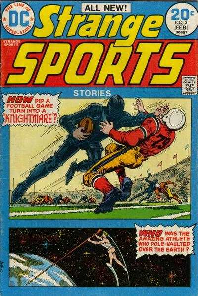 Strange Sports Stories #3 comic books - cover scans photos Strange Sports Stories #3 comic books - covers, picture gallery
