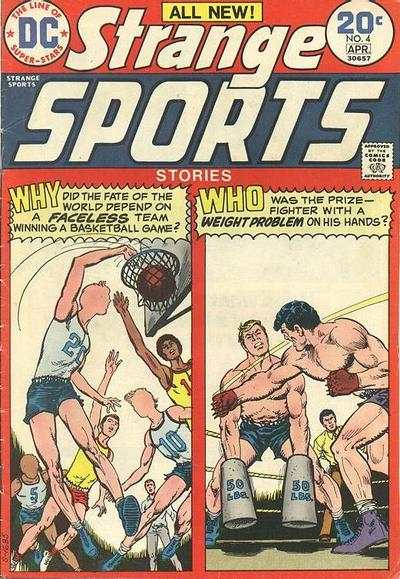 Strange Sports Stories #4 comic books - cover scans photos Strange Sports Stories #4 comic books - covers, picture gallery