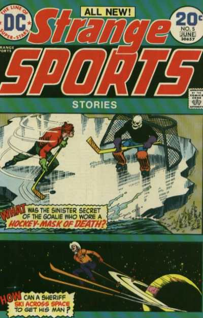 Strange Sports Stories #5 comic books - cover scans photos Strange Sports Stories #5 comic books - covers, picture gallery
