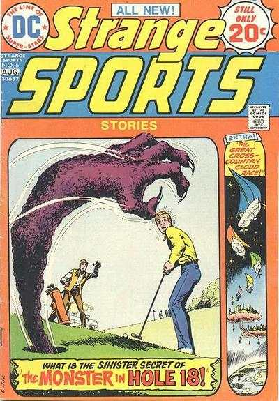 Strange Sports Stories #6 comic books - cover scans photos Strange Sports Stories #6 comic books - covers, picture gallery