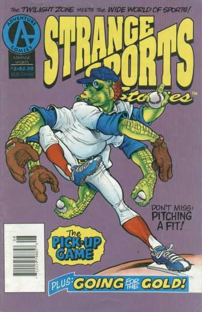 Strange Sports Stories #2 Comic Books - Covers, Scans, Photos  in Strange Sports Stories Comic Books - Covers, Scans, Gallery