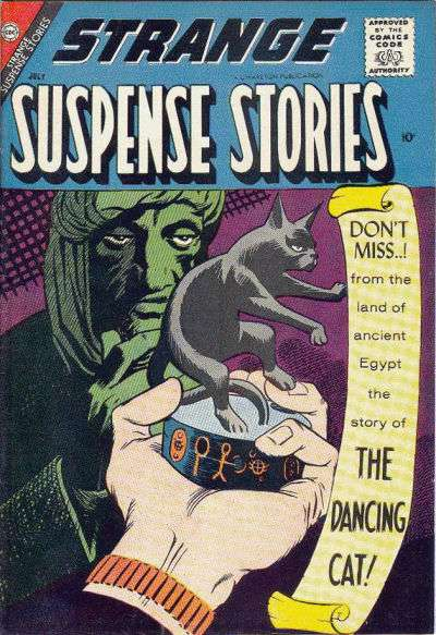 Strange Suspense Stories #37 comic books - cover scans photos Strange Suspense Stories #37 comic books - covers, picture gallery