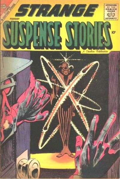 Strange Suspense Stories #40 comic books - cover scans photos Strange Suspense Stories #40 comic books - covers, picture gallery
