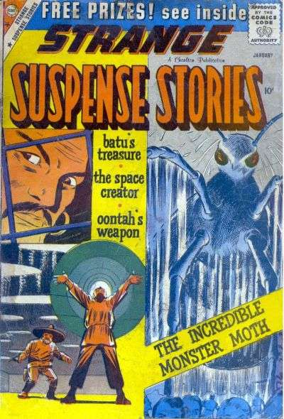 Strange Suspense Stories #45 comic books - cover scans photos Strange Suspense Stories #45 comic books - covers, picture gallery