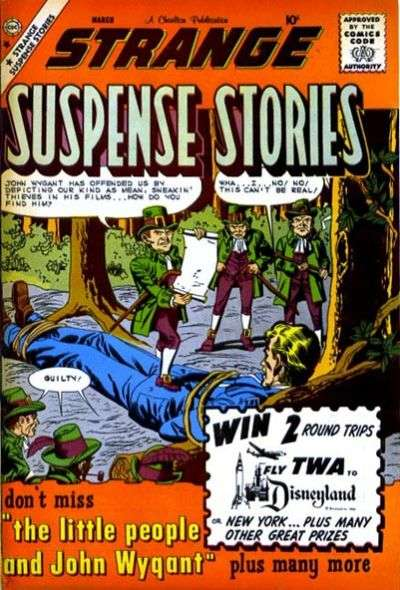 Strange Suspense Stories #46 comic books - cover scans photos Strange Suspense Stories #46 comic books - covers, picture gallery