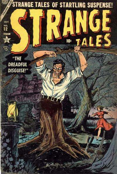 Strange Tales #32 comic books - cover scans photos Strange Tales #32 comic books - covers, picture gallery