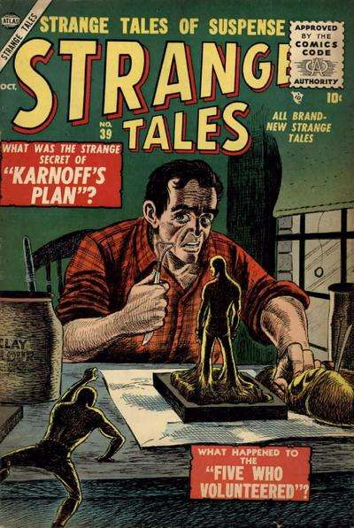 Strange Tales #39 Comic Books - Covers, Scans, Photos  in Strange Tales Comic Books - Covers, Scans, Gallery