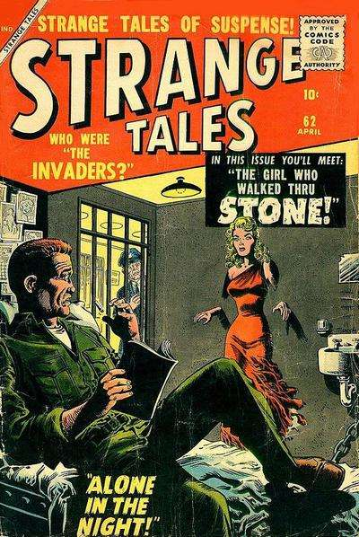 Strange Tales #62 comic books for sale