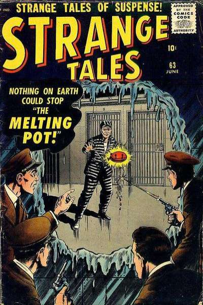 Strange Tales #63 Comic Books - Covers, Scans, Photos  in Strange Tales Comic Books - Covers, Scans, Gallery