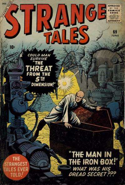 Strange Tales #69 Comic Books - Covers, Scans, Photos  in Strange Tales Comic Books - Covers, Scans, Gallery