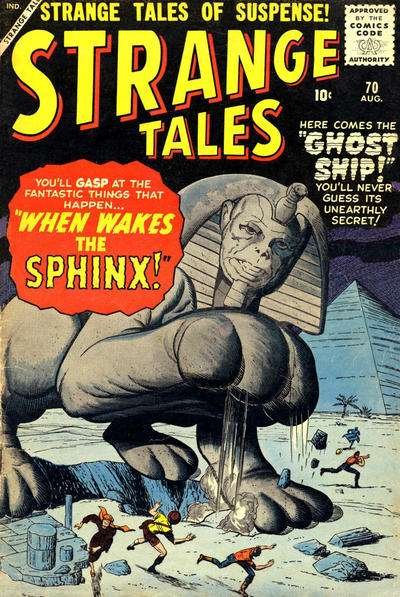 Strange Tales #70 comic books - cover scans photos Strange Tales #70 comic books - covers, picture gallery