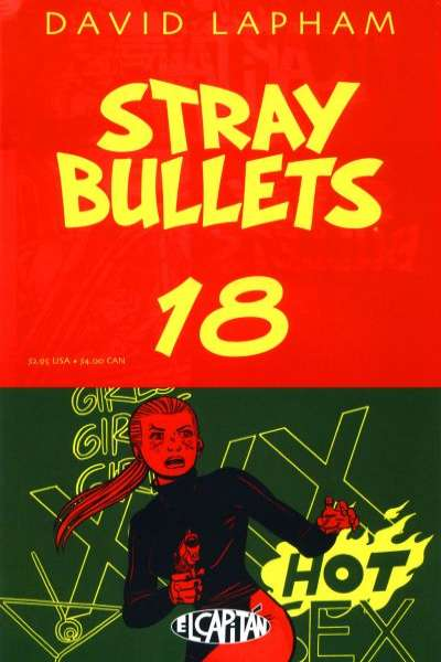 Stray Bullets #18 Comic Books - Covers, Scans, Photos  in Stray Bullets Comic Books - Covers, Scans, Gallery