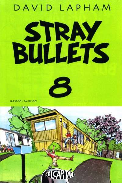 Stray Bullets #8 Comic Books - Covers, Scans, Photos  in Stray Bullets Comic Books - Covers, Scans, Gallery