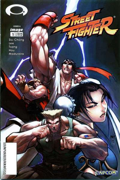 Street Fighter comic books