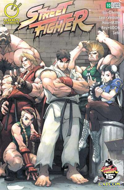 Street Fighter #10 comic books for sale