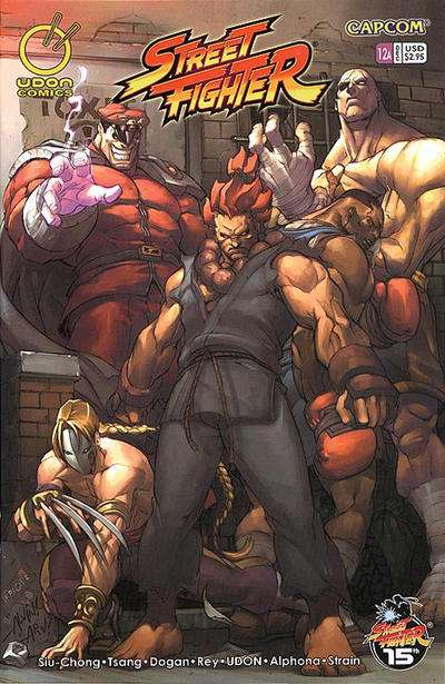 Street Fighter #12 comic books for sale