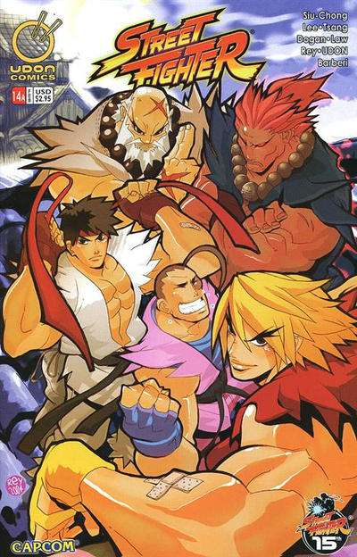 Street Fighter #14 comic books for sale