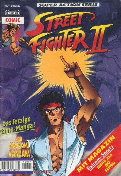 Street Fighter II Comic Books. Street Fighter II Comics.