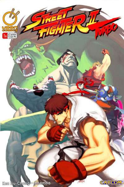 Street Fighter II Turbo comic books