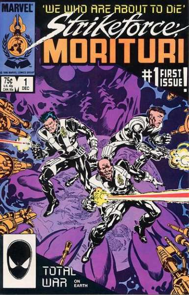 Strikeforce: Morituri #1 comic books for sale