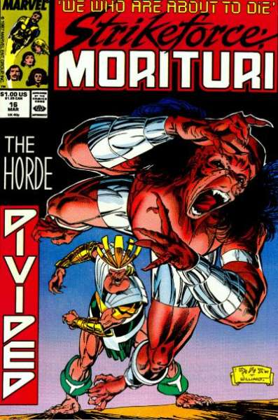 Strikeforce: Morituri #16 comic books for sale