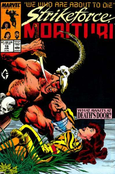 Strikeforce: Morituri #19 comic books for sale