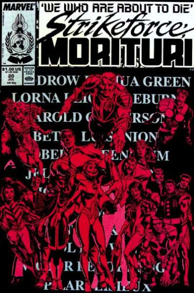 Strikeforce: Morituri #20 comic books for sale