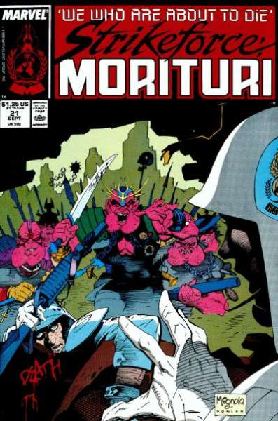Strikeforce: Morituri #21 Comic Books - Covers, Scans, Photos  in Strikeforce: Morituri Comic Books - Covers, Scans, Gallery