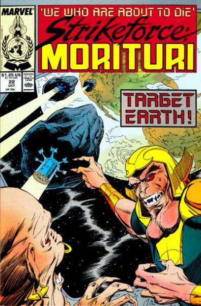 Strikeforce: Morituri #22 comic books for sale