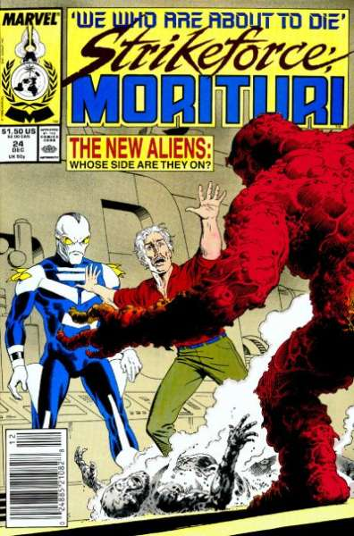 Strikeforce: Morituri #24 Comic Books - Covers, Scans, Photos  in Strikeforce: Morituri Comic Books - Covers, Scans, Gallery
